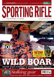 Sporting Rifle June 2016 issue Sporting Rifle June 2016
