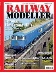 Railway Modeller May 2016 issue Railway Modeller May 2016