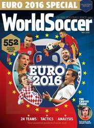 World Soccer Magazine Cover