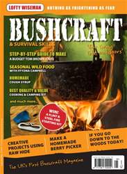 Bushcraft & Survival Skills Magazine Magazine Cover
