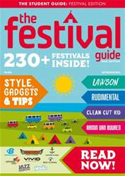 The Festival Guide 2016 issue The Festival Guide 2016