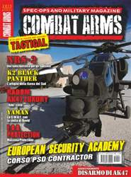 COMBAT ARMS Magazine Cover