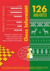 Chess Informant 126 Hand-Knitted (Dec 2015) issue Chess Informant 126 Hand-Knitted (Dec 2015)