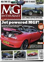 MG Enthusiast December 2011 issue MG Enthusiast December 2011