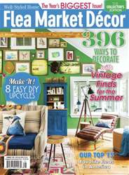 Flea Market Décor Magazine Cover