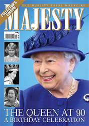Majesty Magazine Magazine Cover