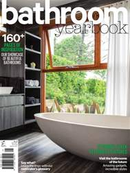 Bathroom Yearbook Magazine Cover