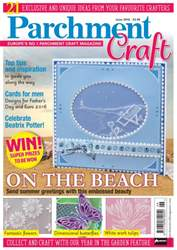 Parchment Craft Magazine Cover