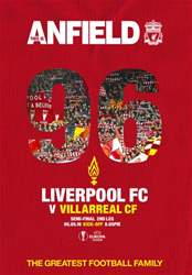Liverpool v Villarreal Europa League 2015/16 issue Liverpool v Villarreal Europa League 2015/16