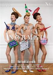Normal Magazine Magazine Cover