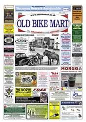 Old Bike Mart Magazine Cover