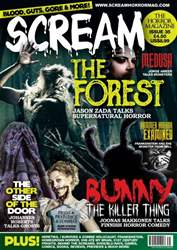 Scream Magazine Magazine Cover