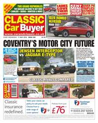 No. 330 Coventry's Motor City Future issue No. 330 Coventry's Motor City Future