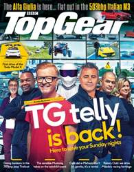 Top Gear Magazine Cover