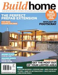 Build Home Victoria Magazine Cover