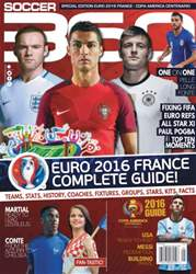 May/June 2016 Euro 2016 and Copa America 2016 Guide! issue May/June 2016 Euro 2016 and Copa America 2016 Guide!