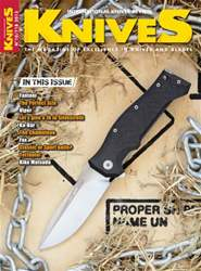 11 - 2015 KNIVES INTERNATIONAL issue 11 - 2015 KNIVES INTERNATIONAL