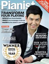 Pianist 90 June-July 2016 issue Pianist 90 June-July 2016