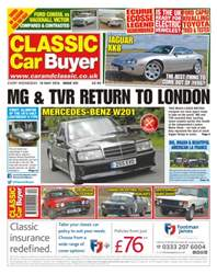 No. 331 MG & TVR Return To London issue No. 331 MG & TVR Return To London