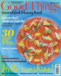 Good Things Magazine Magazine Cover