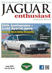 Vol. 32 No. 6 30th Anniversary XJ40 Special Issue  issue Vol. 32 No. 6 30th Anniversary XJ40 Special Issue