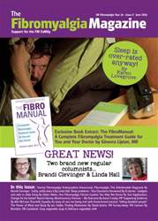 Fibromyalgia Magazine June 2016 issue Fibromyalgia Magazine June 2016