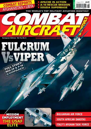 Combat Aircraft Digital Issue