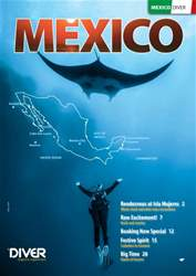 DIVER MEXICO Supplement issue DIVER MEXICO Supplement