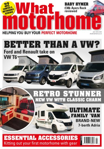 What Motorhome magazine Preview