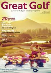 Great Golf Magazine MayJune 2016 issue Great Golf Magazine MayJune 2016
