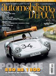 Automobilismo d'Epoca 6 2016 issue Automobilismo d'Epoca 6 2016