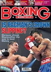 Boxing Monthly December 2011 issue Boxing Monthly December 2011