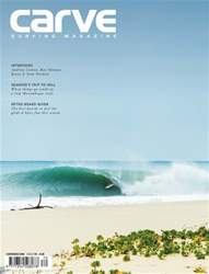 Carve Surfing Magazine issue 170 issue Carve Surfing Magazine issue 170