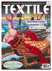Textile Fibre Forum Issue 122 issue Textile Fibre Forum Issue 122