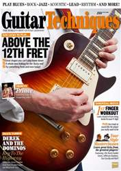 Guitar Techniques Magazine Cover