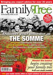 Family Tree July 2016 issue Family Tree July 2016
