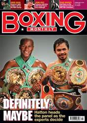 Boxing Monthly February 2010 issue Boxing Monthly February 2010