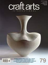 Craft Arts International Magazine Cover
