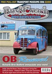 Bus & Coach Preservation Magazine Cover