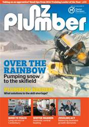 NZ Plumber June-July 2016 issue NZ Plumber June-July 2016