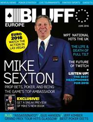 Bluff Europe June16 issue Bluff Europe June16