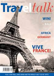 Traveltalk Magazine Cover