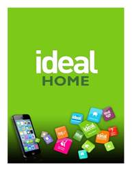 Ideal Home Show Magazine Cover