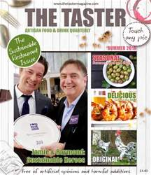 The Taster Magazine issue Summer 2016
