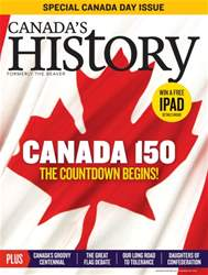 Canada Day 150: The Countdown Begins. issue Canada Day 150: The Countdown Begins.