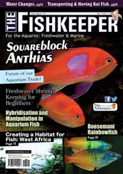 The Fishkeeper Magazine Cover