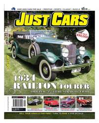 Just Cars January '12 Issue 191 issue Just Cars January '12 Issue 191