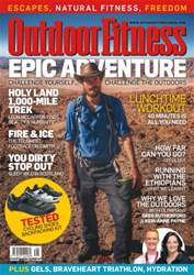 Outdoor Fitness Magazine Cover