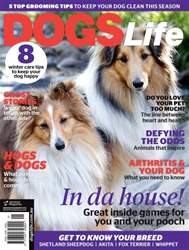 Dogs Life Magazine Cover