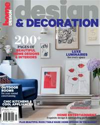Design and Decoration issue Design and Decoration